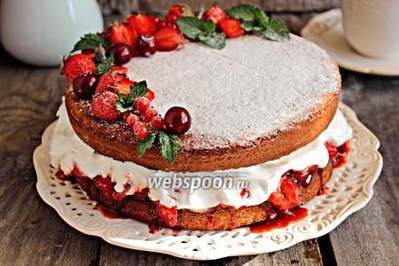 Торт «Королева Виктория»