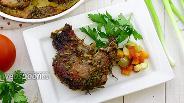 Фото рецепта Свинина в духовке, в маринаде из белой смородины
