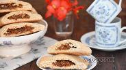 Фото рецепта Печенье с инжиром