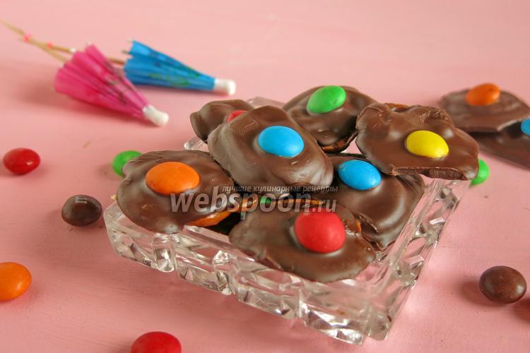 Фото Шоколадный десерт с М&Мs