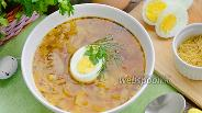 Фото рецепта Суп с куриными гребешками