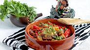 Фото рецепта Острая баранина со сладким перцем
