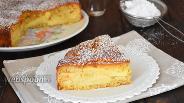 Фото рецепта Яблочно-кокосовый пирог