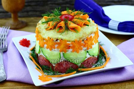 Фото рецепта Торт из кабачков