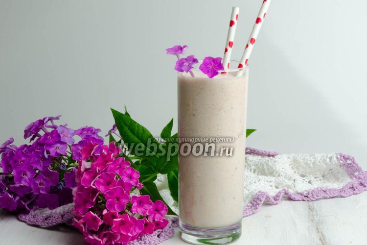 Фото Фруктовый коктейль с мороженым