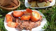 Фото рецепта Свиная мякоть с мятой и лимоном, обжаренная на решётке