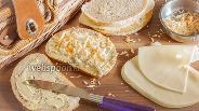 Фото рецепта Вегетарианский сэндвич с сыром