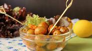Фото рецепта Солёные оливки быстрый способ