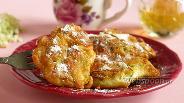 Фото рецепта Косматице — сладкие оладьи из цветов бузины