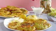 Фото рецепта Цветы бузины в солёном кляре, косматице