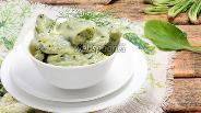 Фото рецепта Вареники со шпинатом