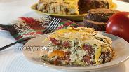 Фото рецепта Террин из цукини с сыром и помидорами