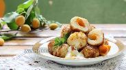 Фото рецепта Кнедлики с абрикосами