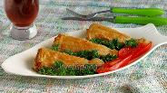 Фото рецепта Рыба в вафлях «Рыбные хвостики»