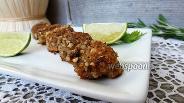 Фото рецепта Морские гребешки в ореховой панировке