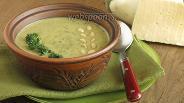 Фото рецепта Крем-суп из баклажанов и сыра