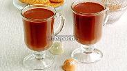 Фото рецепта Горячий шоколад имбирный