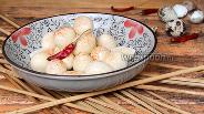 Фото рецепта Перепелиные яйца маринованные