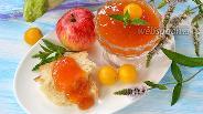 Фото рецепта Повидло из алычи, яблок и кабачков