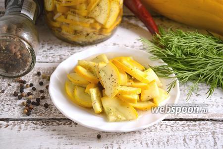 Салат из цукини на зиму