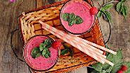 Фото рецепта Смузи чернично-малиновый