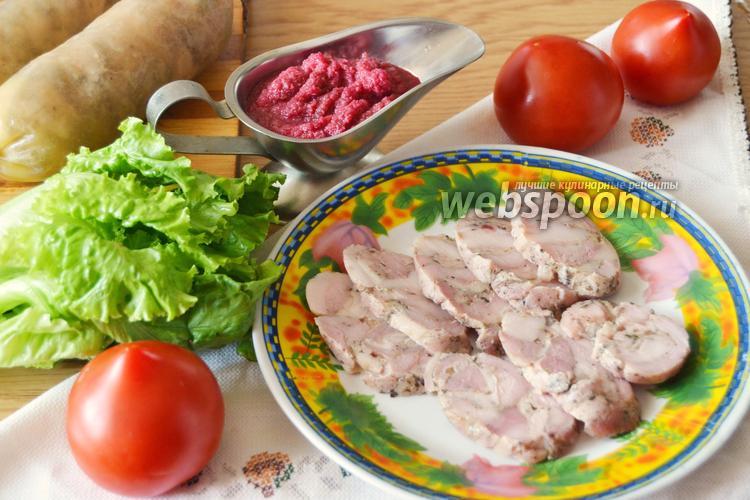 Фото Колбаса из свинины домашняя
