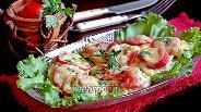 Фото рецепта Куриные отбивные «под шапочкой» на сковороде