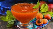 Фото рецепта Повидло из яблок и абрикосов