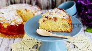 Фото рецепта Пирог персиковый