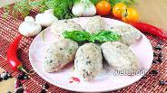 Фото рецепта Биточки из индейки с грибами и фасолью