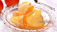 Фото рецепта Мандариновое мороженое