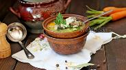 Фото рецепта Суп из рыбных консервов с пшеном