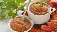 Фото рецепта Повидло ванильное из яблок и кабачков