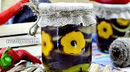 Фото рецепта Маринованные баклажаны острые