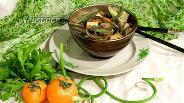 Фото рецепта Овощной гарнир со стрелками чеснока