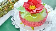Фото рецепта Торт «Аленький цветок»