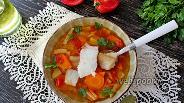Фото рецепта Томатный рыбный суп