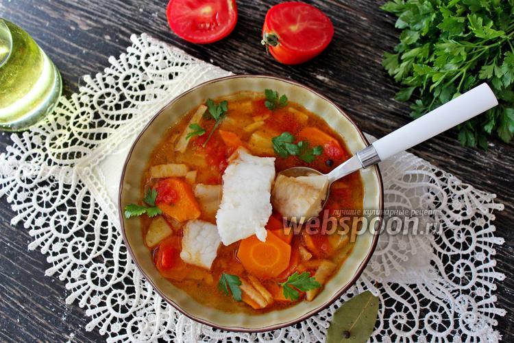 Фото Томатный рыбный суп