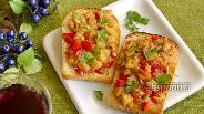 Фото рецепта Тосты с овощным рагу