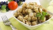 Фото рецепта Белые баклажаны, жаренные с хлебными крошками
