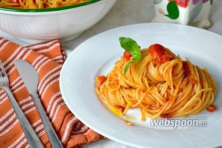 Спагетти «4 помидора»
