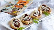 Фото рецепта Печенье «Лодочки с шоколадом»