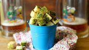 Фото рецепта Зелёные сухари