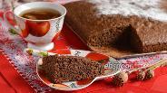 Фото рецепта Шоколадно-маковый бисквит