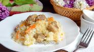 Фото рецепта Плов со свининой и кунжутом