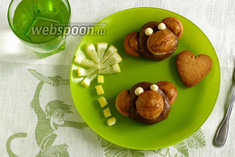 Фото Пирожное «картошка» из печенья