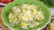 Фото рецепта Кабачки тушёные с рисом