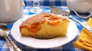 Фото рецепта Сахарный абрикосовый пирог