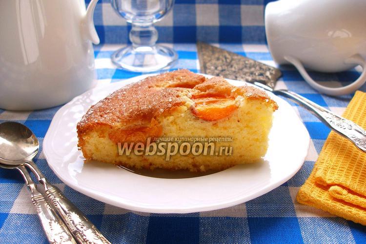 Фото Сахарный абрикосовый пирог