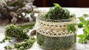 Фото рецепта Мятный сахар на зиму